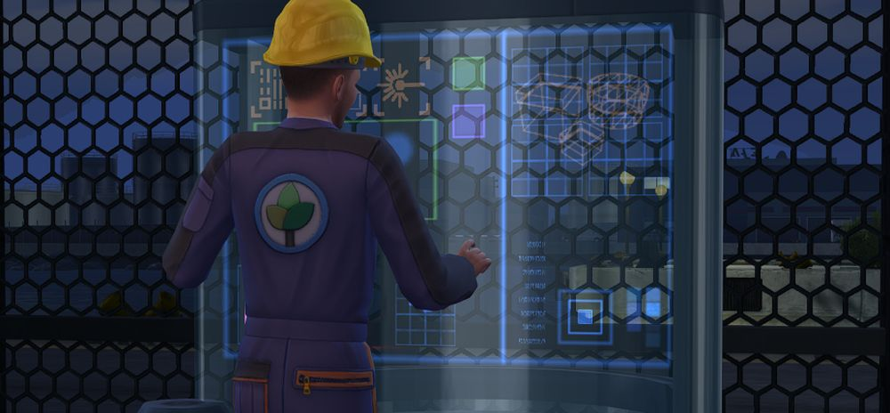 Using the Fabricator in Sims 4 Eco Lifestyle