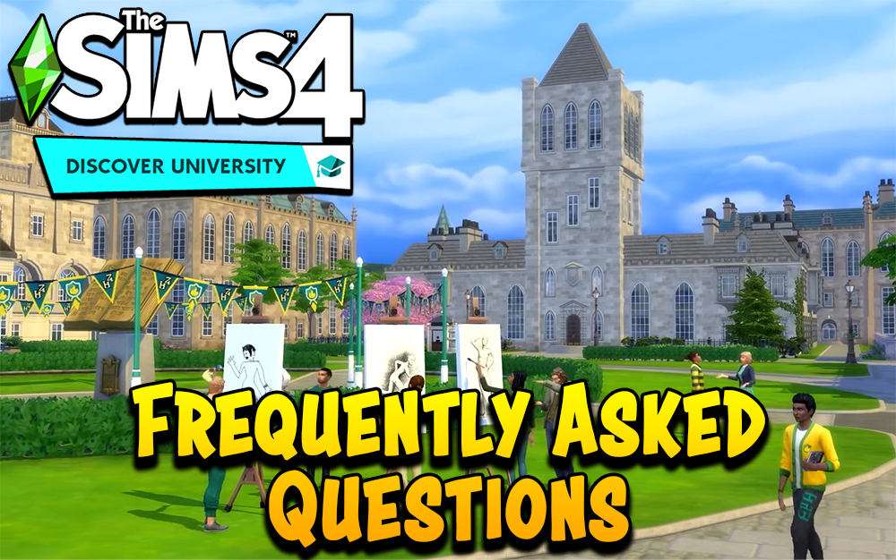 The Sims 4 Discover University Expansion Pack FAQ