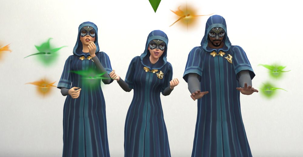 The Sims 4 Discover University Secret Society
