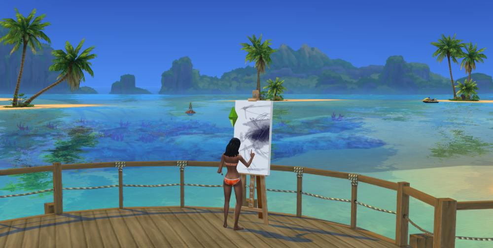 The world of Sulani is beautiful - Island Living Expansion Pack for The Sims 4