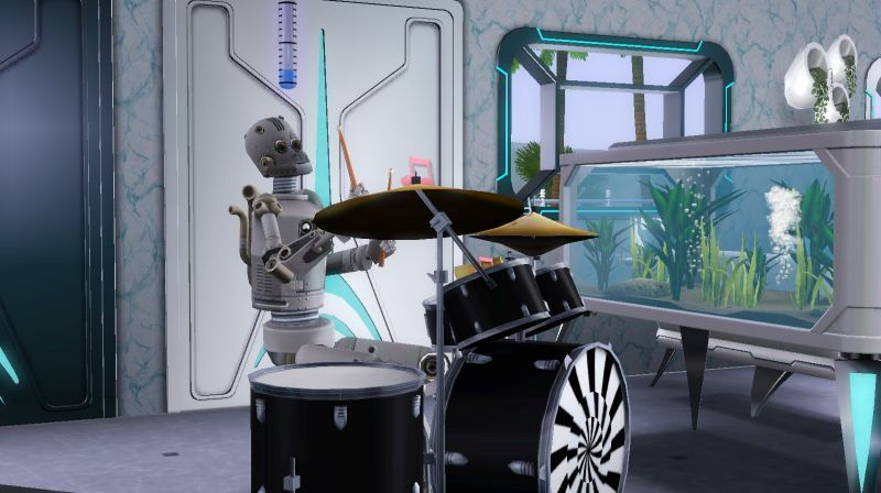 sim day and night pictures. And whoever heard of a SimBot