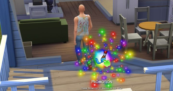 Sims 4 Level 10 in Career
