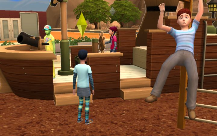 Playing multiple households lets you populate the town with your own Sims