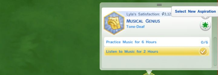 Aspirations in The Sims 4