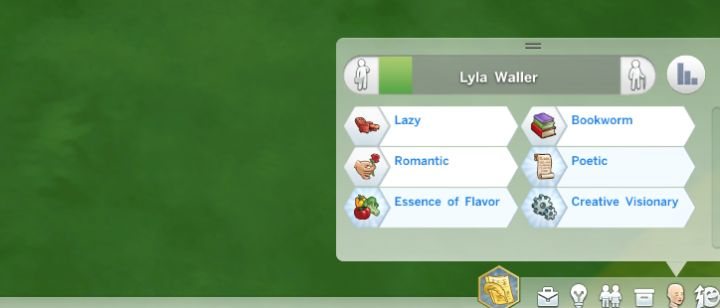 Traits in The Sims 4