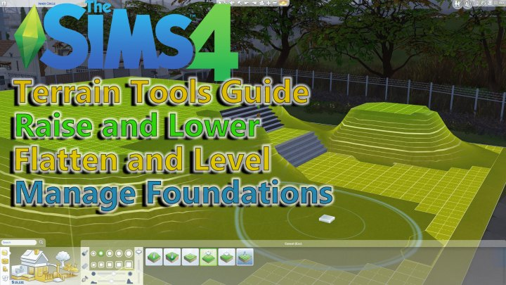 The Sims 4 Terrain Tools Patch News