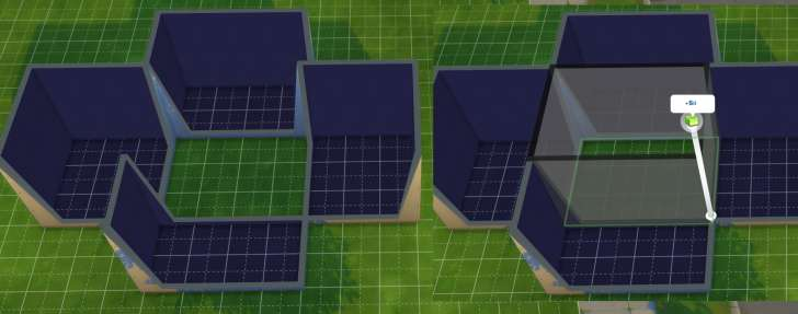 Sims 4 Building How-To's: how rooms are made