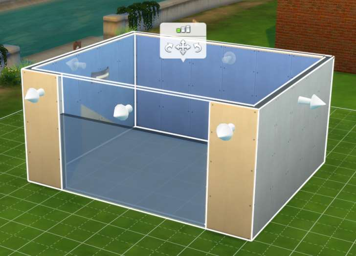 Sims 4 Building How-To's: Even with a wall removed, it's still seen as a room