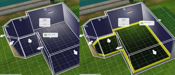 Sims 4 Building How-To's: building and removing a floor in just the click of a button