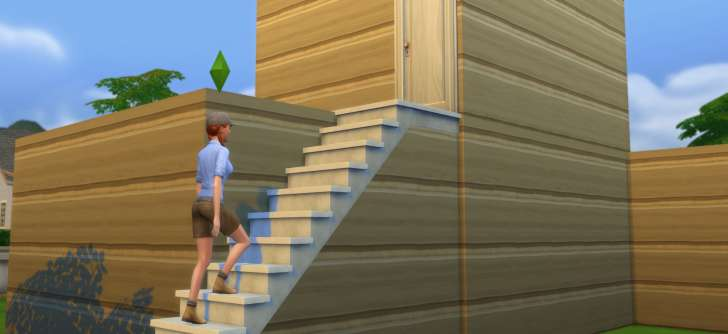 The sims 4 building stairs and basements for First step to building a house