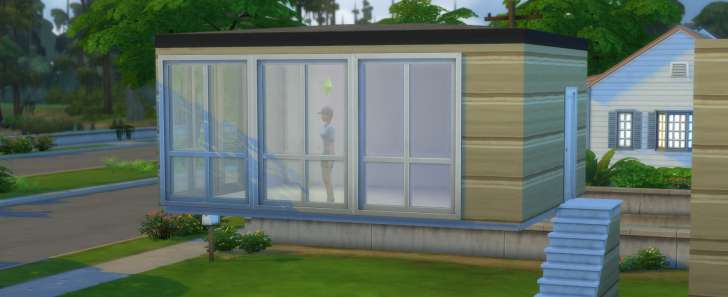 Sims 4 Building How-To's: defy gravity with a floating room