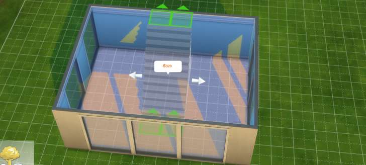Sims 4 Building How-To's: make stairs wider