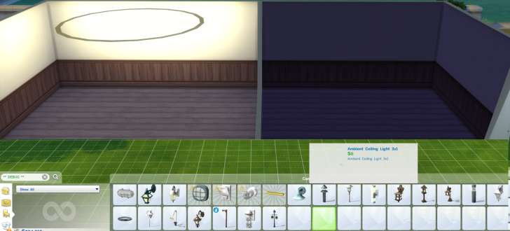 Sims 4 Building How-To's: Add extra lights with hidden lights