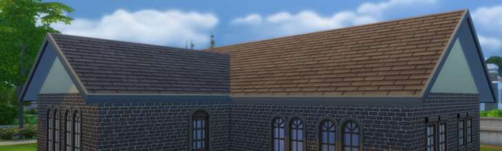 Sims 4 Building How-To's: Roofs