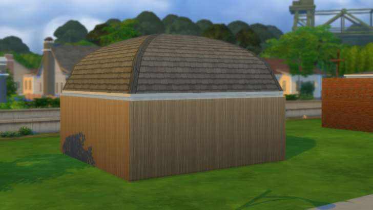 Sims 4 Building How-To's: domed roof