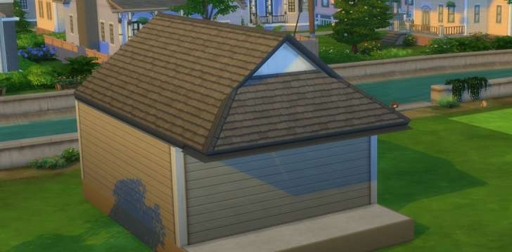 Sims 4 Building How-To's: Gablet or Dutch gable roof