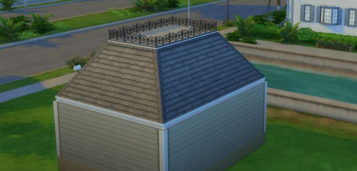 Sims 4 Building How-To's: Mansard style roof