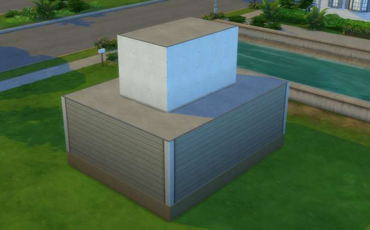 Sims 4 Building How-To's: Adding a half hipped roof. Customize your home