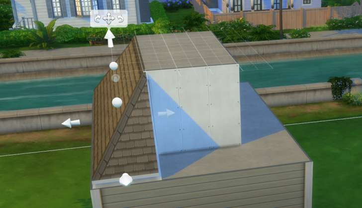 Sims 4 Building How-To's: finish roof with trims