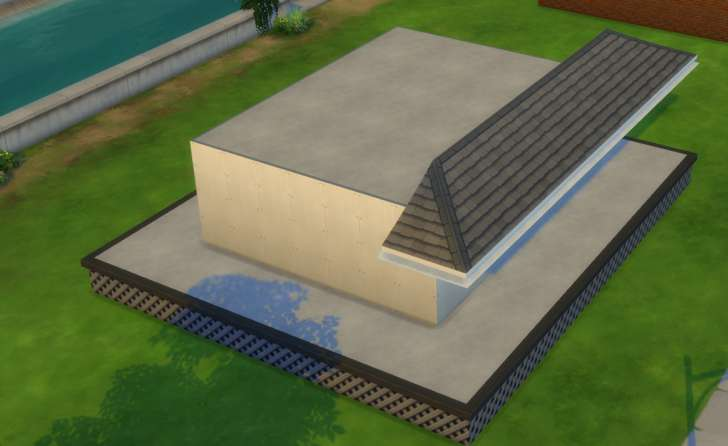 Sims 4 Building How-To's: tutorial for roofs