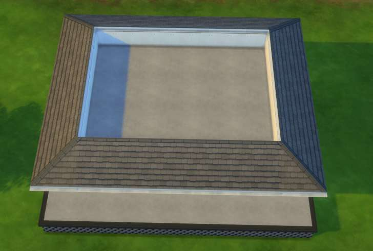 Sims 4 Building How-To's: full roof section