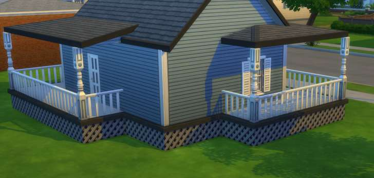 Sims 4 Building How-To's: finishing the roof