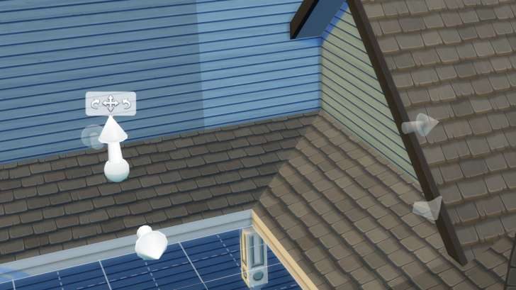 Sims 4 Building How-To's: height adjustment leads to great looking roof for the home