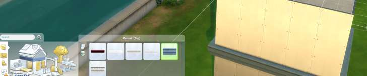 Sims 4 Building How-To's: wall trim