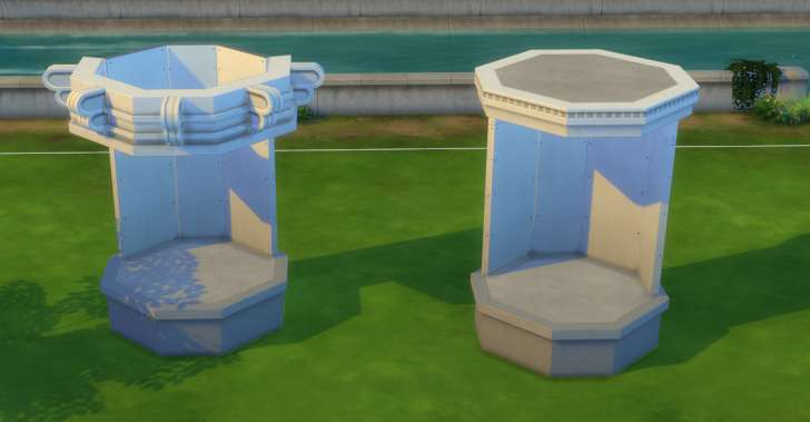 Sims 4 Building How-To's: friezes and trims