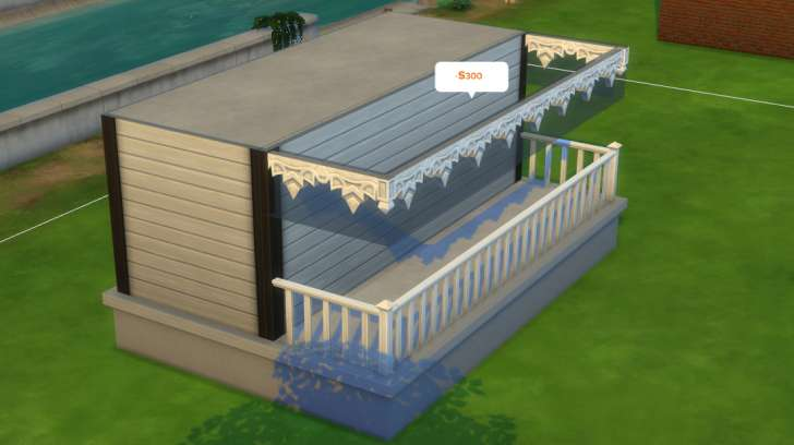 Sims 4 Building How-To's: hold shift while placing spandrels