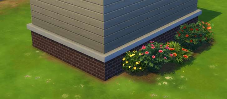 Sims 4 Building How-To's: terrain paints to make a yard look better