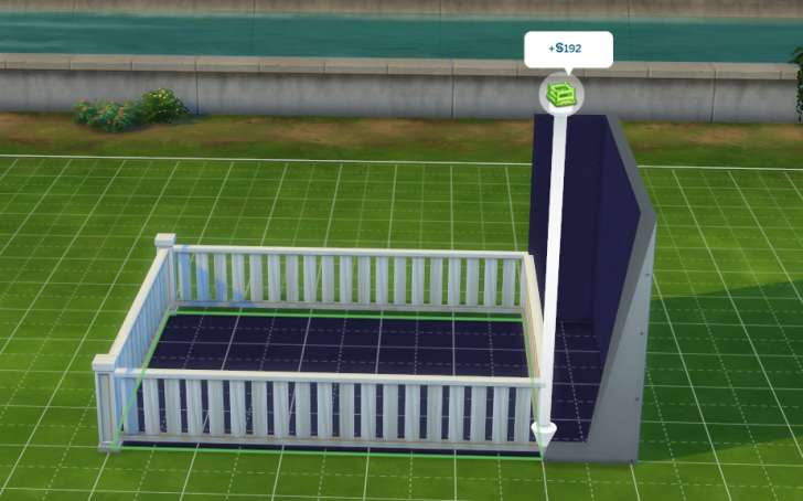 Sims 4 Building How-To's: making fences instead of walls