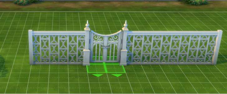 Sims 4 Building How-To's: using gates