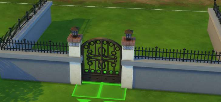 Sims 4 Building How-To's: higher fences