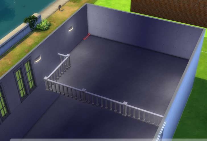 Sims 4 Building How-To's: loft before stairs