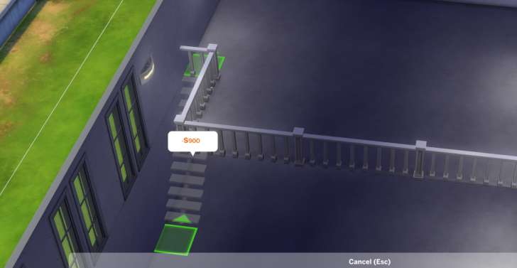 Sims 4 Building How-To's: adding stairs to the loft