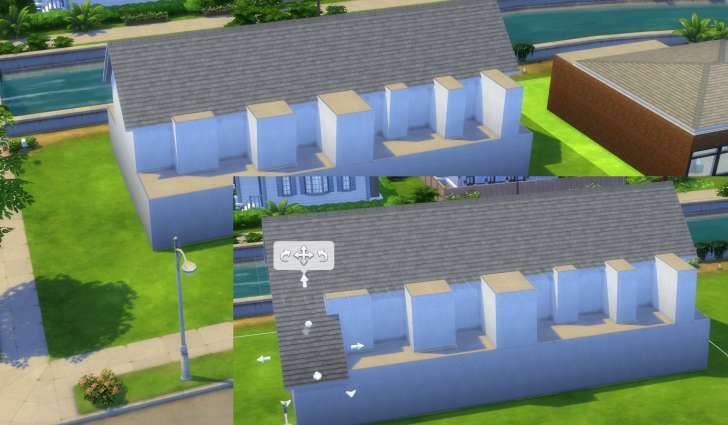 Sims 4 Building How-To's: continuing our dormer windows