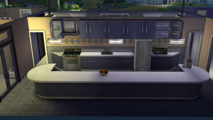Sims 4 Building How-To's: making a kitchen with counter tops