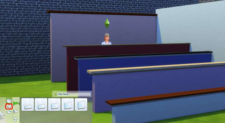 Half Walls in The Sims 4
