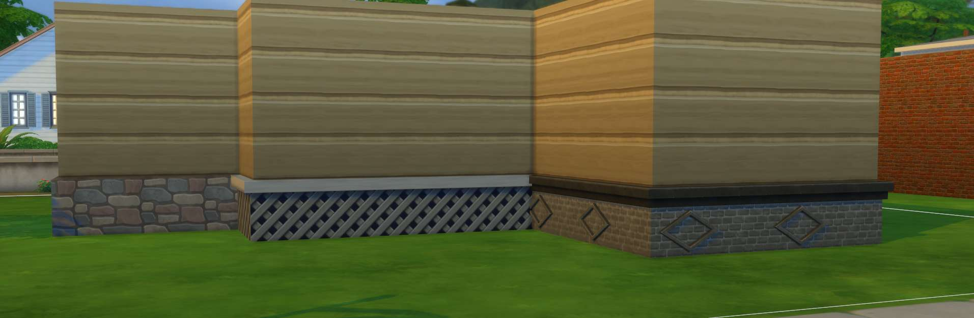 Sims 4 Building How To S Foundation Finishes Should Be Added Each Room