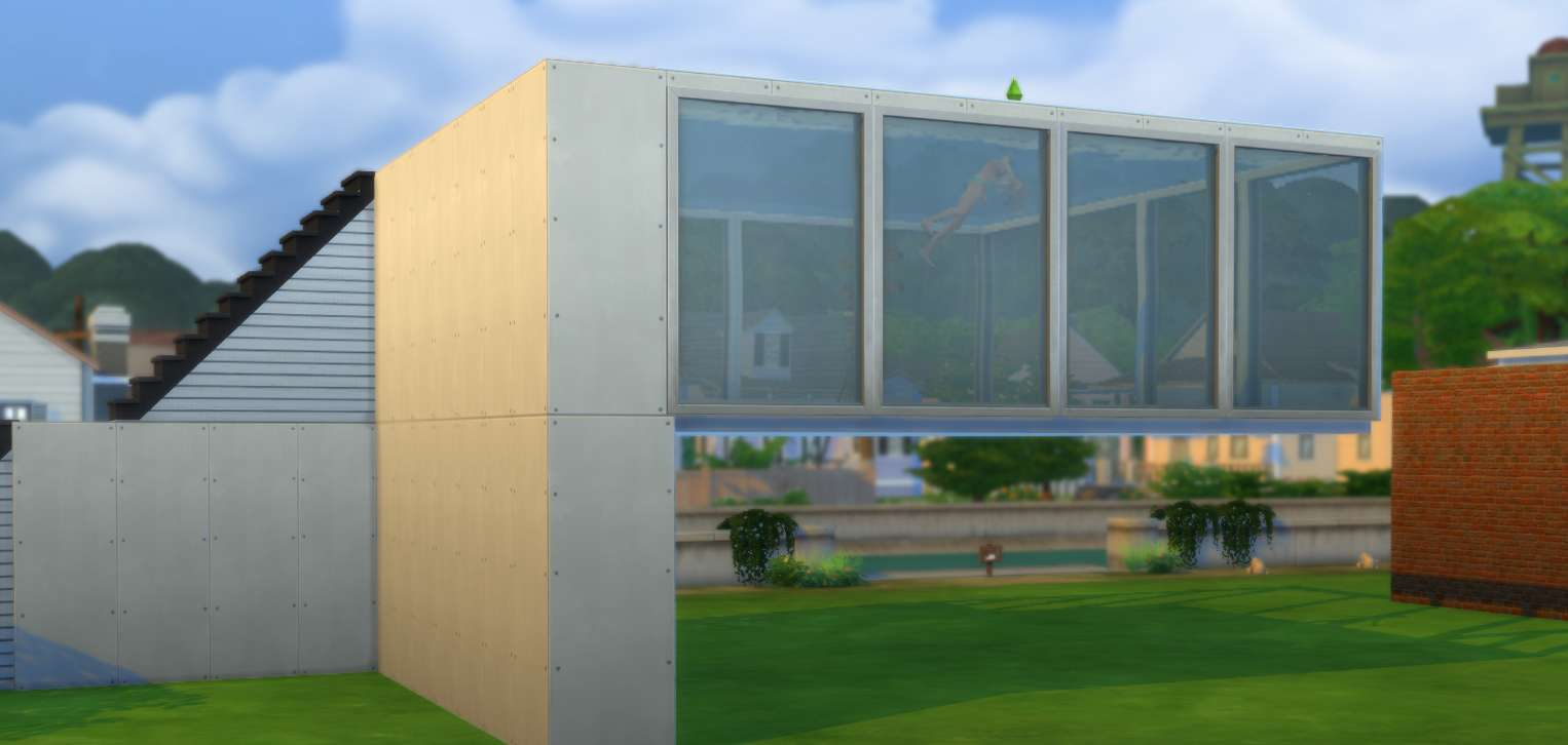 Sims  How To Build A Pool Into Foundation