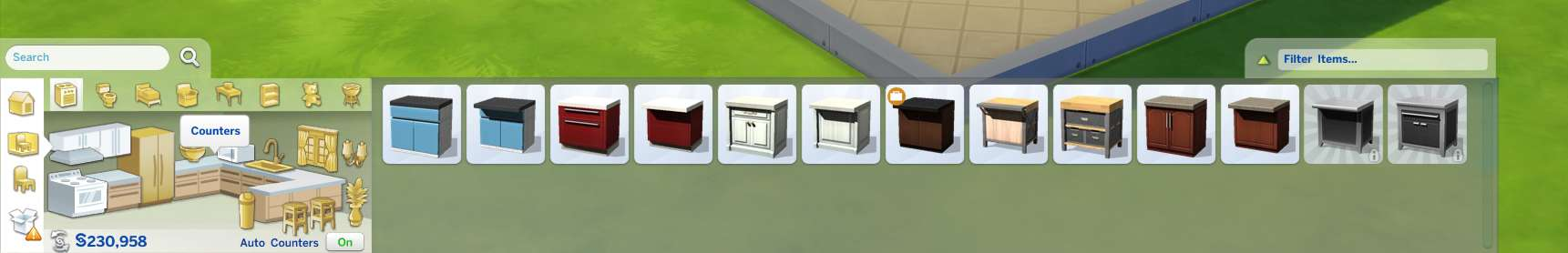 Sims  Build Mode Snap Counters To Each Other