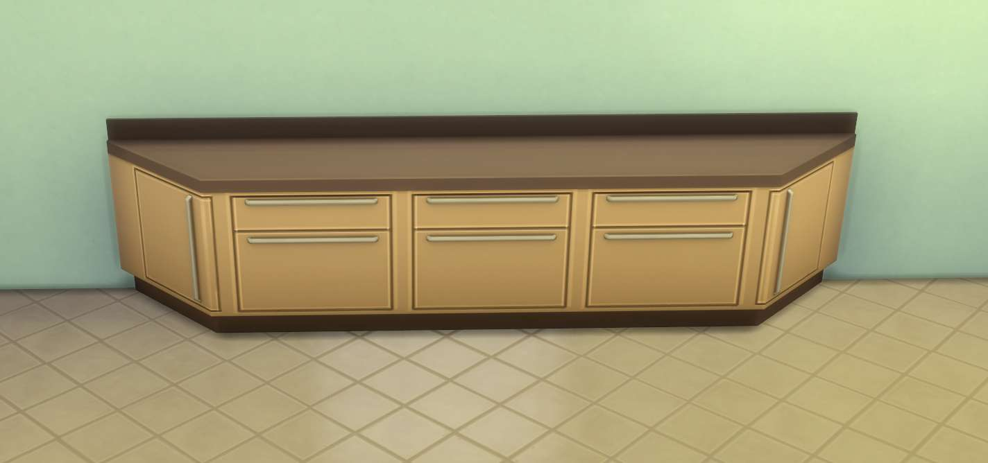The Sims 4 Building: Counters, Cabinets and Islands