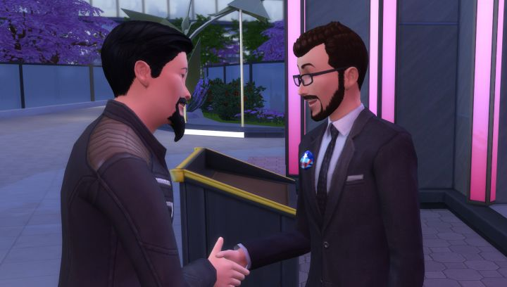 Becoming president means getting votes in The Sims 4 City Living