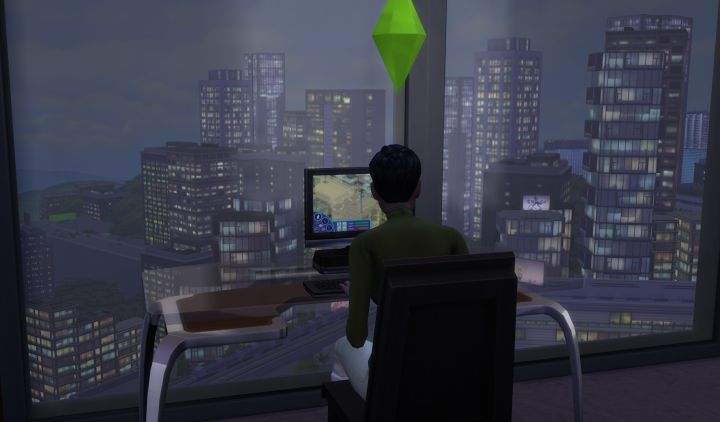 Sims 4 City Living gaining followers from let's play using social media