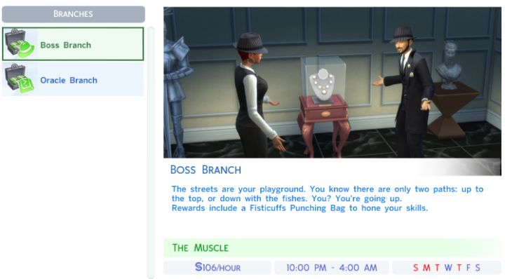 The Sims 4 Criminal Career - Job Rewards & Bonuses