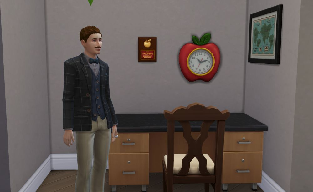 Be a professor in The Sims 4 Discover University Expansion Pack