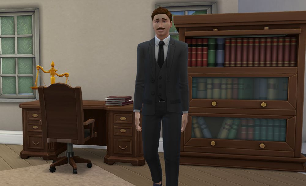 Private Attorney branch in The Sims 4 Discover University