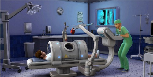 Doctor Career from Expansion Pack Get to Work