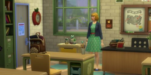The Sims 4 Education Career